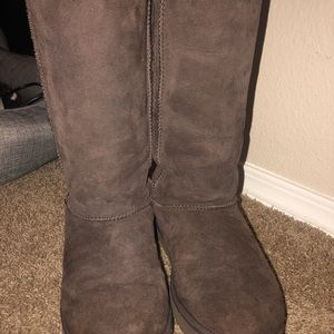 UGG Womens Classic Tall Chocolate Boots Size 7